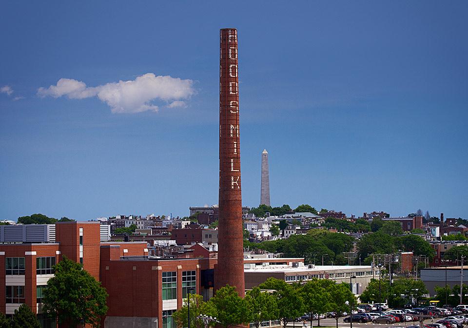Hood Park stack / Bunker Hill