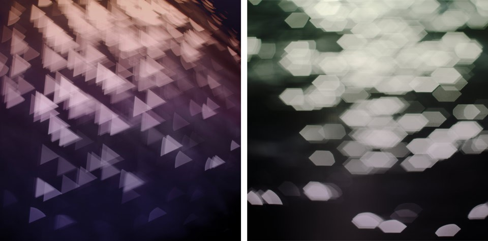 Westland elevator vestibule artwork proposals. (Triangles and Hex). Photographs ©2016 Alexander Coster Scott